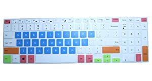 CaseBuy Keyboard Cover for Dell Inspiron 15-3542 15-3543 15-3551 15-3552 15-5545 15-5547 15-5548 i5548 15-5555 i5555 15-5558 i5558 15-5559 i5559 15-7559 17-5748 17-5749 17-5755 17-5758 17-5759(Candy2)
