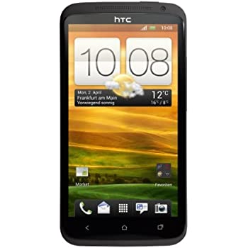 HTC ONE X Smartphone (11,9 cm (4,7 Zoll) LCD-Touchscreen, 8 Megapixel Kamera, Android OS) dunkelgrau