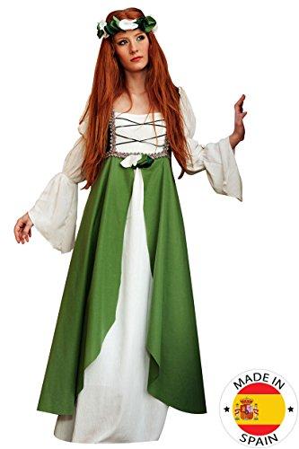 Limit Mittelalter Hortensia Kostüm (2x große, grün)