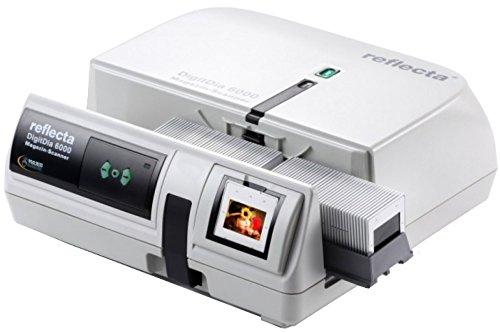 DIASCANNER MIETEN, Reflecta DigitDia 6000, Dias digitalisieren, Magic Touch Kratzerentfernung, Diascannen, Auflösung: 5000 DPI, inkl. Erklärungsvideo