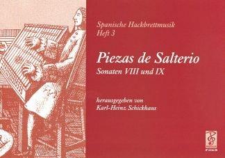 PIEZAS DE SALTERIO - arrangiert für Hackbrett [Noten / Sheetmusic] Komponist: SCHICKHAUS KARL HEINZ