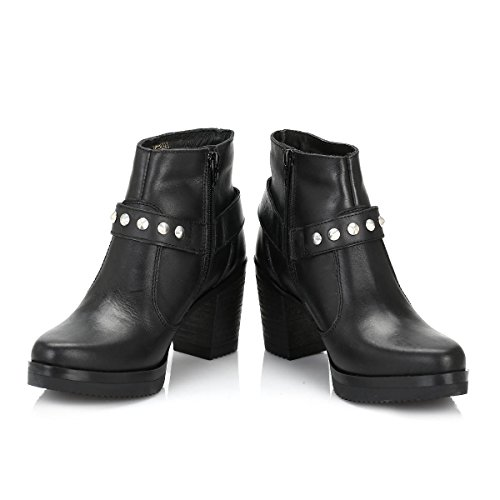 4ever young Femmes Beyonce Bottes Noir (Cuir)