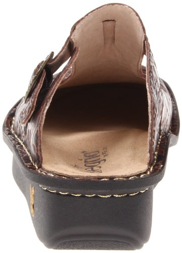 Alegria Classic, Chaussures femme Brown Emboss Rose