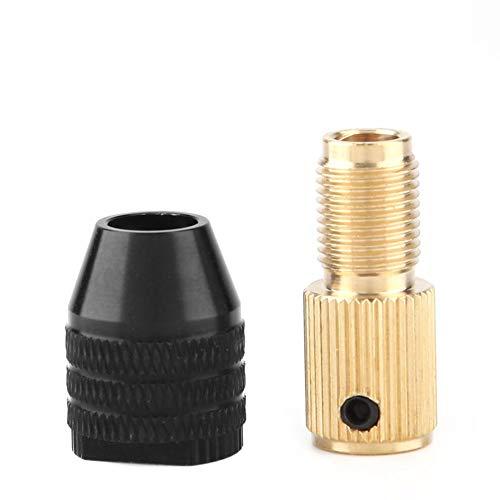 Mini-Bohrfutter, Selbstspannend, Zubehör für Bohrmaschinen, 0,3-3,4 mm Spannkapazität(5MM)