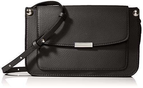 Esprit Accessoires Damen Debbie Smllshld Umhängetasche, Schwarz (Black), 5x14,5x24 cm