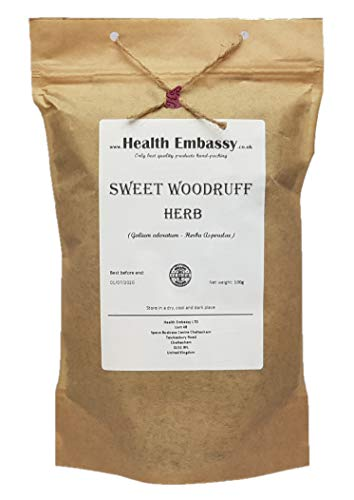 Waldmeister Kraut (Galium Odoratum - Herba Asperulae) 100g/Sweet Woodruff Herb - Health Embassy - 100% Natural