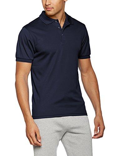 James & Nicholson Herren Poloshirt Men´s Active Polo Blau (Navy)