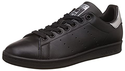 adidas Stan Smith, Baskets Mode Femme, Noir (Core Black/Core Black/Supplier