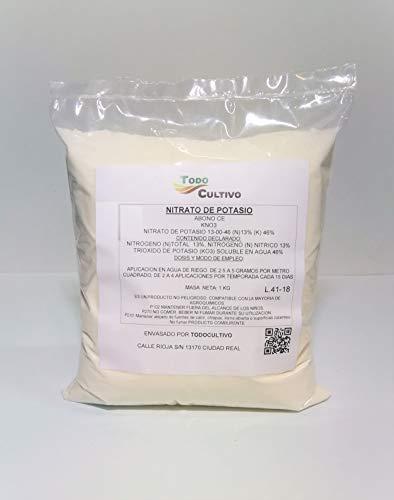 todo cultivo fertilizzante nitrato di potassio 1 kg. 13-00-46 solubile in acqua