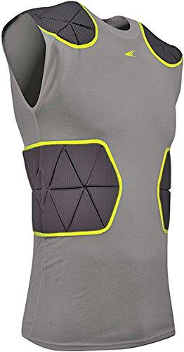 Champro Dri-gear-fußball (Champro Tri-Flex Fußball-Kompressionsshirt mit Kissensystem)