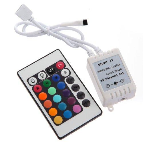 Bluelover 24Key IR-Fernbedienung für RGB 5050 LED Beleuchtung Strip-neue