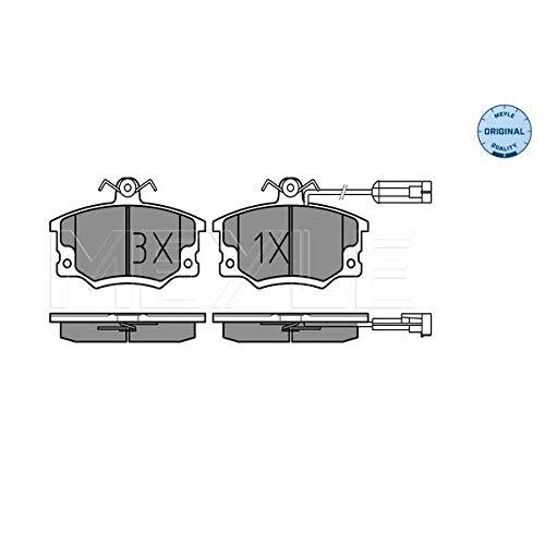 Meyle 025 208 3317/W Kit de plaquettes de frein, frein à disque