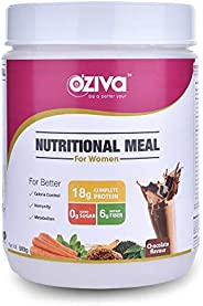 OZiva Nutritional Meal Women- Chocolate 500g