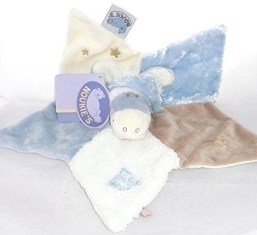 Amtoys - Noukies Doudou Paco bleu et blanc - 22 cm - N0681.77