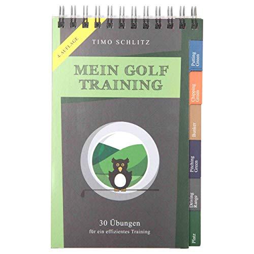30 Übungen für ein effektives Training | Booklet mit Drills für das Golf-Bag ()