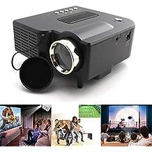 Wekold Mini Proyector LED portátil Proyección de 40-50 Pulgadas, proyector de Cine en