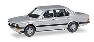 Herpa 038652BMW 528i E28, vehículos, Plata Metalizado