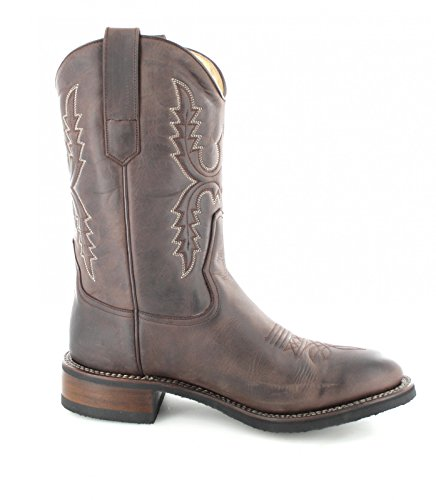 Sendra Boots 11615, Stivali western unisex adulto Marrone