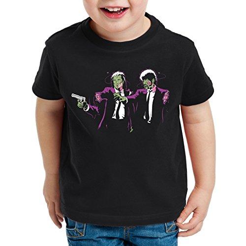 style3 Zombie Fiction T-Shirt für Kinder pulp dvd blu-ray tarantino quentin dead walking, Größe:128