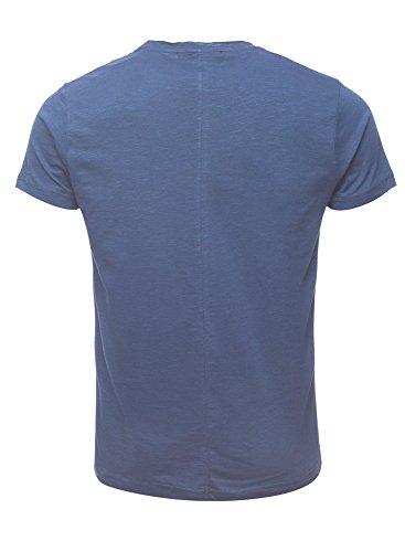 Cipo & Baxx Basic T-Shirt Blau