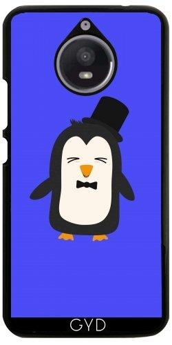 Hülle für Motorola Moto E4 Plus - Pinguin Mit Anzug by ilovecotton (Tuxedo-anzug Tie)