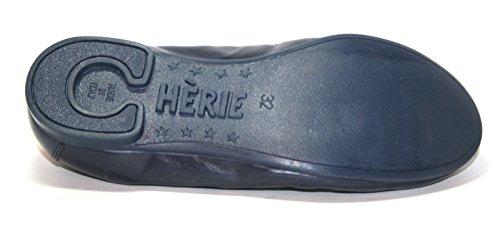 Cherie Kinder Schuhe Mädchen Ballerinas 7770 (ohne Karton) Blau