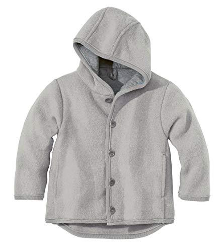 Disana 32310XX - Walk-Jacke Wolle grau, Size / Größe:110/116 (4-5 Jahre) (Wolle Anzug Stoff)