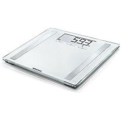 Soehnle 507414 Shape Sense Control 200 Personen-/Körperanalysewaage, für Fitnesseinsteiger, Waage berechnet täglichen Kalorienbedarf, mit großer LCD-Anzeige