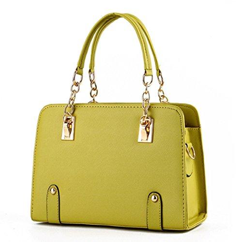 Generic ,  Mädchen Damen Tasche Gelb