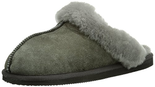 Shepherd - Jessica Slipper, Pantofole da donna Grigio (Antique Grey 21)
