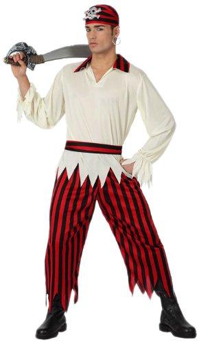 Imagen de atosa  disfraz de pirata para hombre, talla m/l 15776