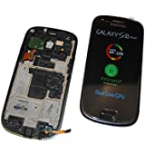Samsung GT-I8190 Galaxy S3 Mini black LCD Display Touch Screen Module orginal schwarz