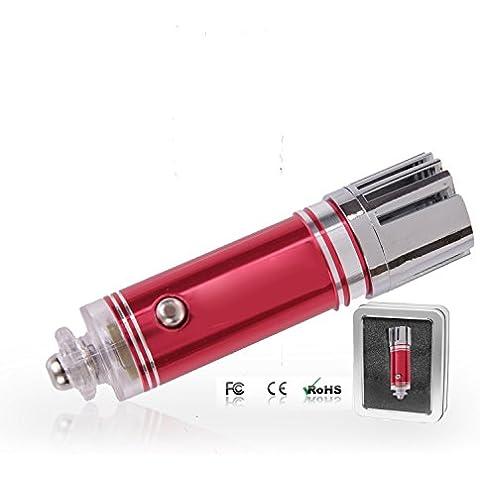 EchoAcc® Purificatore Aria Auto,Ionizzatore che Rimuove Efficacemente la Polvere, Polline e Fumo(Rosso)