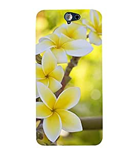 Vizagbeats yellow flowers Back Case Cover for HTC One A9