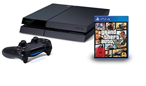 PlayStation 4 - Konsole (500GB) inkl. Grand Theft Auto V (Gb Bundle Ps3 500)