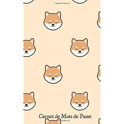 Carnet de Mots de Passe: A5 - 98 Pages - Animaux de la Foret - Renard - Hibou - Lapin