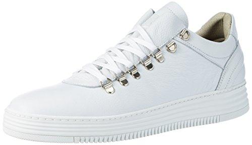 Buffalo Men Herren ES 30907 Maggia Sneakers, Weiß (Branco 01), 44 EU (Herren Buffalo)