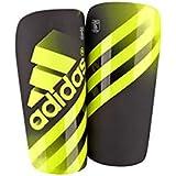 Adidas Ghost Guard - Espinilleras unisex, color amarillo / negro, talla S