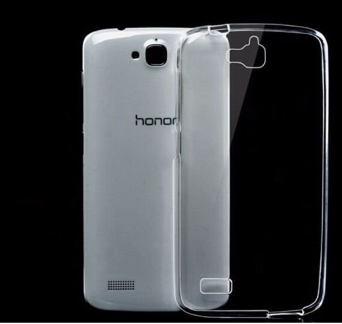 Dashmesh Shopping Ultra Thin 0.3mm Clear Transparent Flexible Soft TPU Slim Back cover Compatible for Huawei Honor Holly