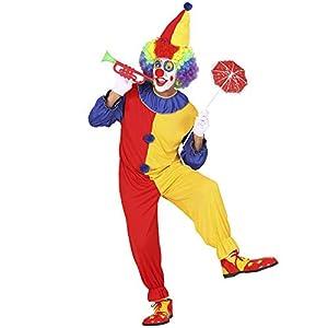 WIDMANN Widman - Disfraz de payaso de circo para hombre, talla M (2702)