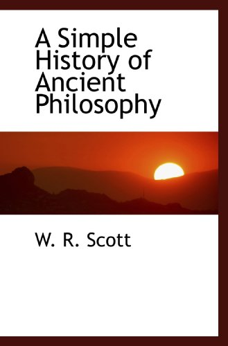 A Simple History of Ancient Philosophy