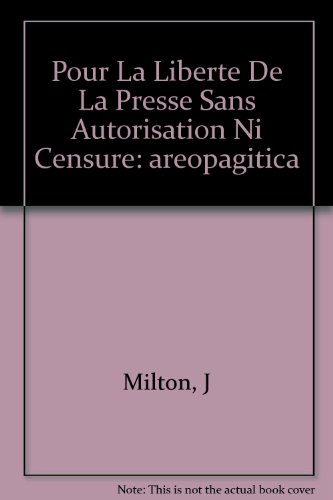Pour La Liberte De La Presse Sans Autori...