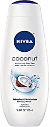 NIVEA Moisturizing Body Wash, Coconut 16.90 oz