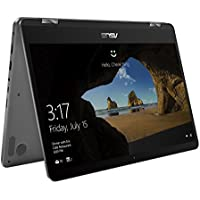 Asus Zenbook Flip 14 UX461UA 90NB0GG1-M00490 35,5 cm (14 Zoll FHD, Touch) Convertible Notebook (Intel Core i5-8250U, 8GB RAM, 256GB SSD, Intel UHD Graphics, Win 10 Home) grau