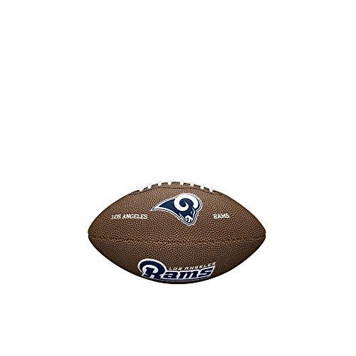 Wilson NFL Team Logo Taille Football-los Angeles Rams, Marron, Mini