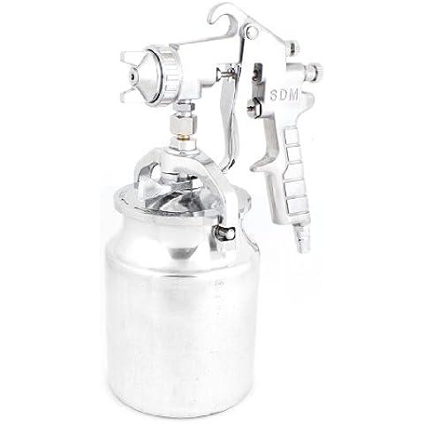 PQ-2 mm de diámetro boquilla 1000 ml taza Gravity alimentación profesional pistola para manguera de jardín