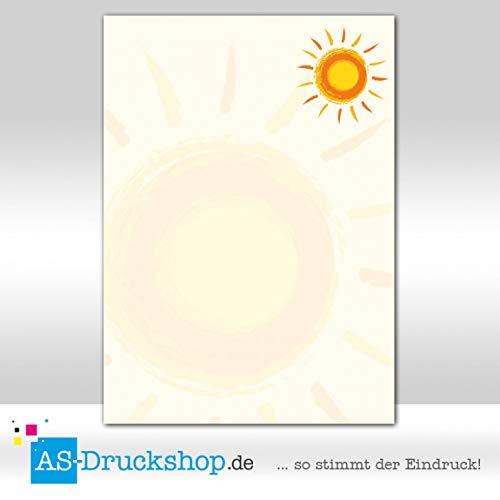 Sunny / 25 Blatt/DIN A4 / 90 g-Offsetpapier ()