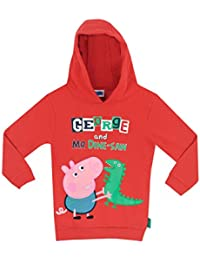 Character UK Peppa Pig Boys George The Pig Hoodie Ages 18 Months to 6 Years