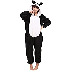 Mytom Kigurumi Pijamas Unisexo Adulto Traje Cosplay Homewear Halloween Animal Pyjama ( Panda EU M )