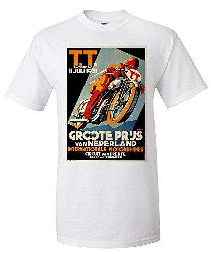 tt-groote-prijs-vintage-poster-artist-devries-c-1931-premium-t-shirt